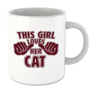 This Girl Loves Her Cat Mug