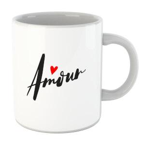 Amour Script Mug