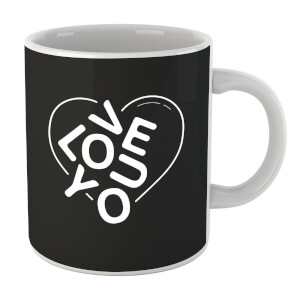 Love You Jumble Mug