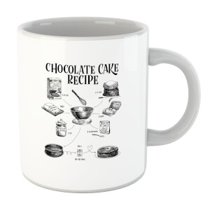 Chocolate Cake Recipe Mug
