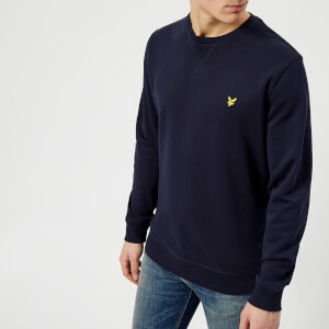 Lyle & Scott Men's Crew Neck Sweatshirt - Navy