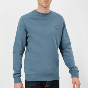 Lyle & Scott Men's Crew Neck Sweatshirt - Mist Blue
