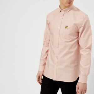 Lyle & Scott Men's Oxford Shirt - Dusty Pink