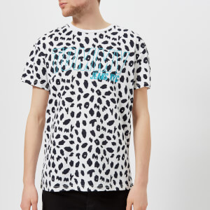 Tommy Jeans Men's Animal Print Logo T-Shirt - Animal Print Classic White