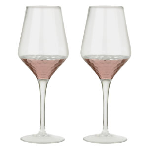 Artland Coppertino Wine Glasses (Box of 2)