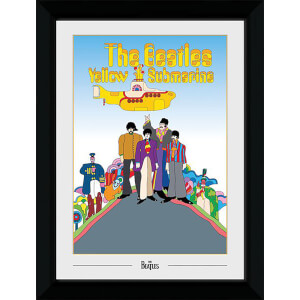 The Beatles Yellow Submarine Collector's 50 x 70cm Framed Photograph