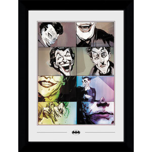 DC Comics The Joker Collector's 50 x 70cm Framed Photograph