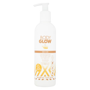 Body Glow by SKINNY TAN Medium Lotion 280?ml