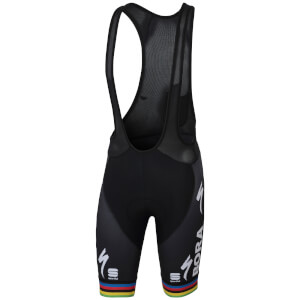 Sportful Bora Hansgrohe BodyFit Pro Classic Bib Shorts - World Champion Edition
