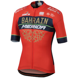 Sportful Men's Bahrain Merida BodyFit Pro Team Jersey