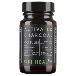 KIKI Health Activated Charcoal - 50 Vegicaps