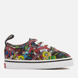 Vans Toddlers' Marvel Characters Authentic Trainers - Multi/True White