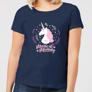 Magical Mummy Women's T-Shirt - Navy