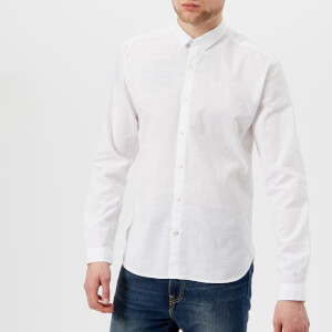 Oliver Spencer Men's Clerkenwell Tab Shirt - Elcot White