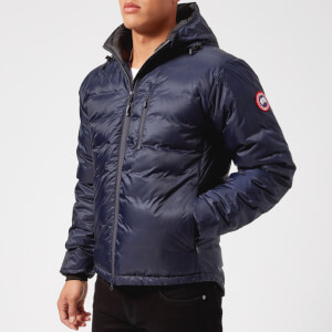 Canada Goose Men's Lodge Hoody Down Jacket - Admiral Blue/Black