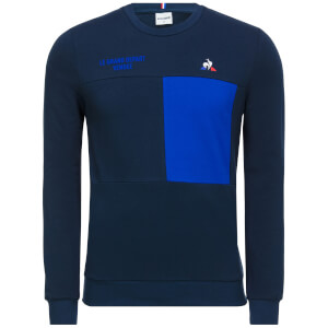 Le Coq Sportif Tour de France 2018 Le Grand Depart Sweatshirt - Blue