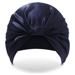 Turbante The Kate de SILKE - Azul marino