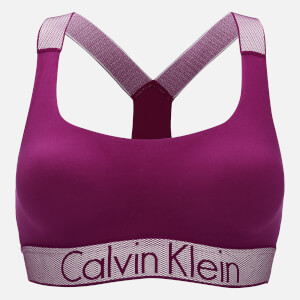 Calvin Klein Women's Customised Stretch Lightly Lined Bralette - Indulge