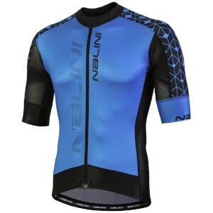 Nalini Velocita' Short Sleeve Jersey - Blue/Black