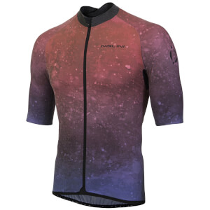 Nalini Mortirolo Short Sleeve Jersey - Red/Blue