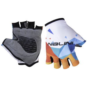 Nalini Vetta Mitts - White/Blue/Orange