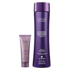 Alterna Caviar Moisture Shampoo and Moisture Intense Pre-Shampoo Duo
