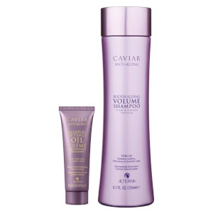 Alterna Caviar Volume Shampoo and Moisture Intense Pre-Shampoo Duo