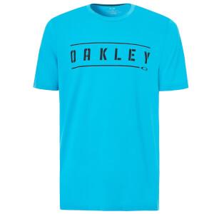 Oakley Men's 50-Double Stack T-Shirt - Atomic Blue