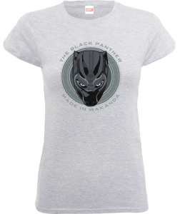 Black Panther Made in Wakanda Women's T-Shirt - Grey
