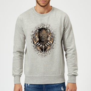 Black Panther Gold Eril Sweatshirt - Grau