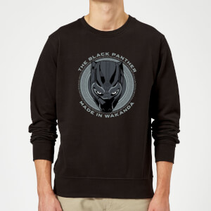 Black Panther Made in Wakanda Sweatshirt - Black