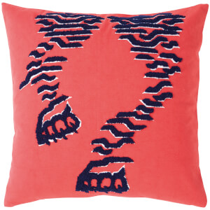 KENZO Tiger Cushion Cover - Red