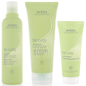 Aveda Be Curly Shampoo and Conditioner Duo with Curl Enhancer Sample