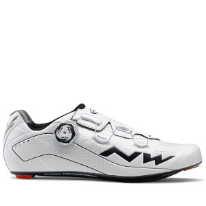 Northwave Flash Cycling Shoes - White/Black