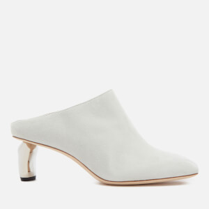 Rejina Pyo Women's Conie Heeled Mules - Ivory/Silver