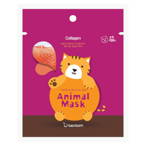 Berrisom Animal Mask Series -kasvonaamio, kissa 25ml