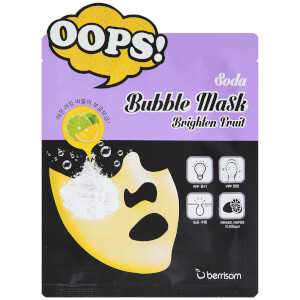 Berrisom Soda Bubble Mask – Brighten Fruit 18 ml