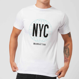 T-Shirt Homme NYC Manhattan - Blanc