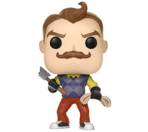 Figurine Pop! EXC Neighbor avec Hache et Corde - Hello Neighbor