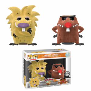 Nickelodeon Angry Beavers Norbers & Daggett Flocked EXC Funko Pop! Vinyl 2-Pack (VIP ONLY)