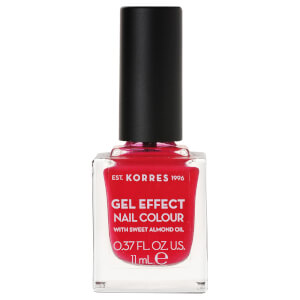 KORRES Gel-Effect Sweet Almond Nail Colour – 19 Watermelon 11 ml