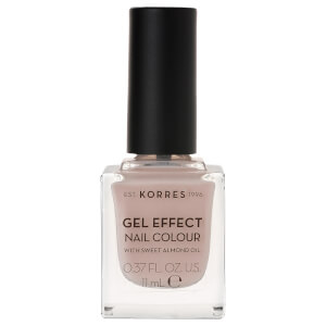 KORRES Gel-Effect Sweet Almond Nail Colour - 31 Sandy Nude 11ml