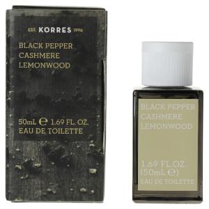 KORRES For Him Black Pepper, Cashmere and Lemonwood Eau de Toilette 50ml
