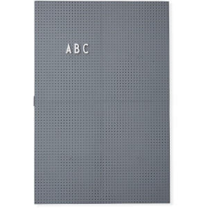 Design Letters A3 Message Board - Dark Grey