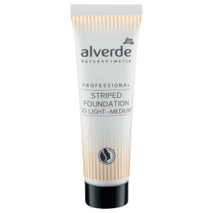 alverde NATURKOSMETIK - Professional Striped Foundation Medium-Light