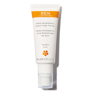 REN Wake Wonderful Night-Time Facial 40ml (Free Gift)