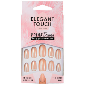 Elegant Touch Prima Donna unghie finte - Pearled Up Princess