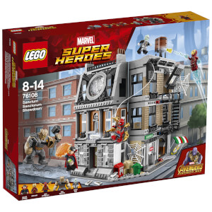 LEGO Super Heroes Marvel Infinity War: Sanctum Sanctorum - Der Showdown (76108)