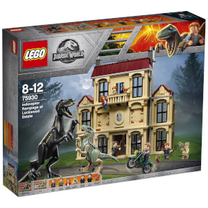 LEGO Jurassic World Fallen Kingdom: Indoraptor Rampage at Lockwood Estate (75930)