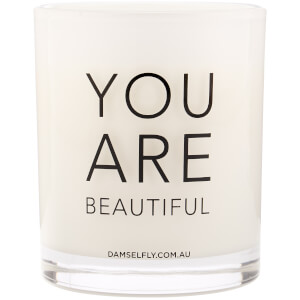 Damselfly You Are Beautiful Candle 300g